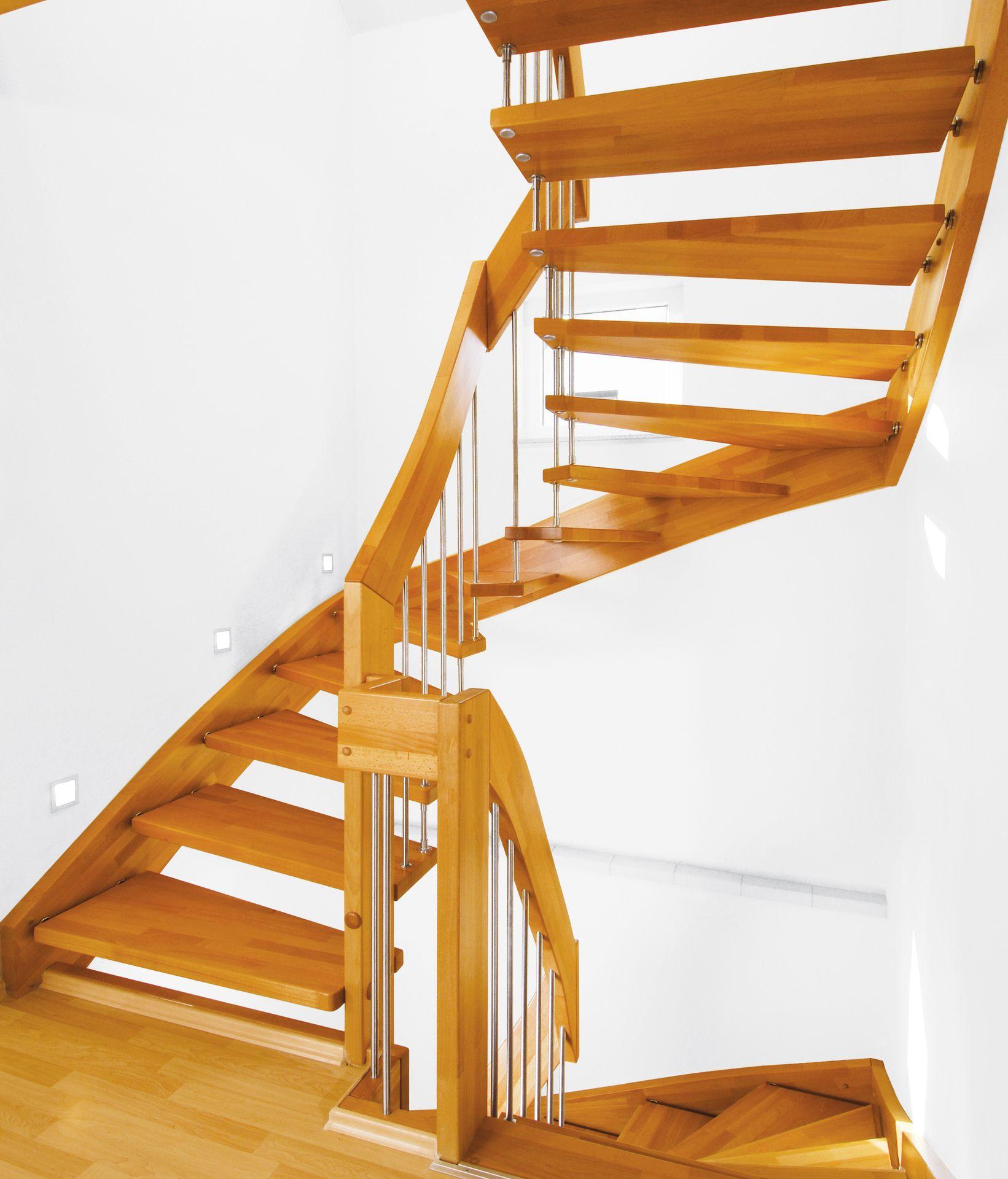 gel ndergetragene treppen ais. Black Bedroom Furniture Sets. Home Design Ideas
