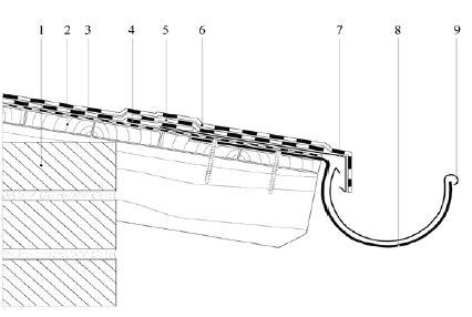 Traufblech detail  MOGAT Komplettdach: Abdichtungssysteme für Flachdächer - ais-online.de