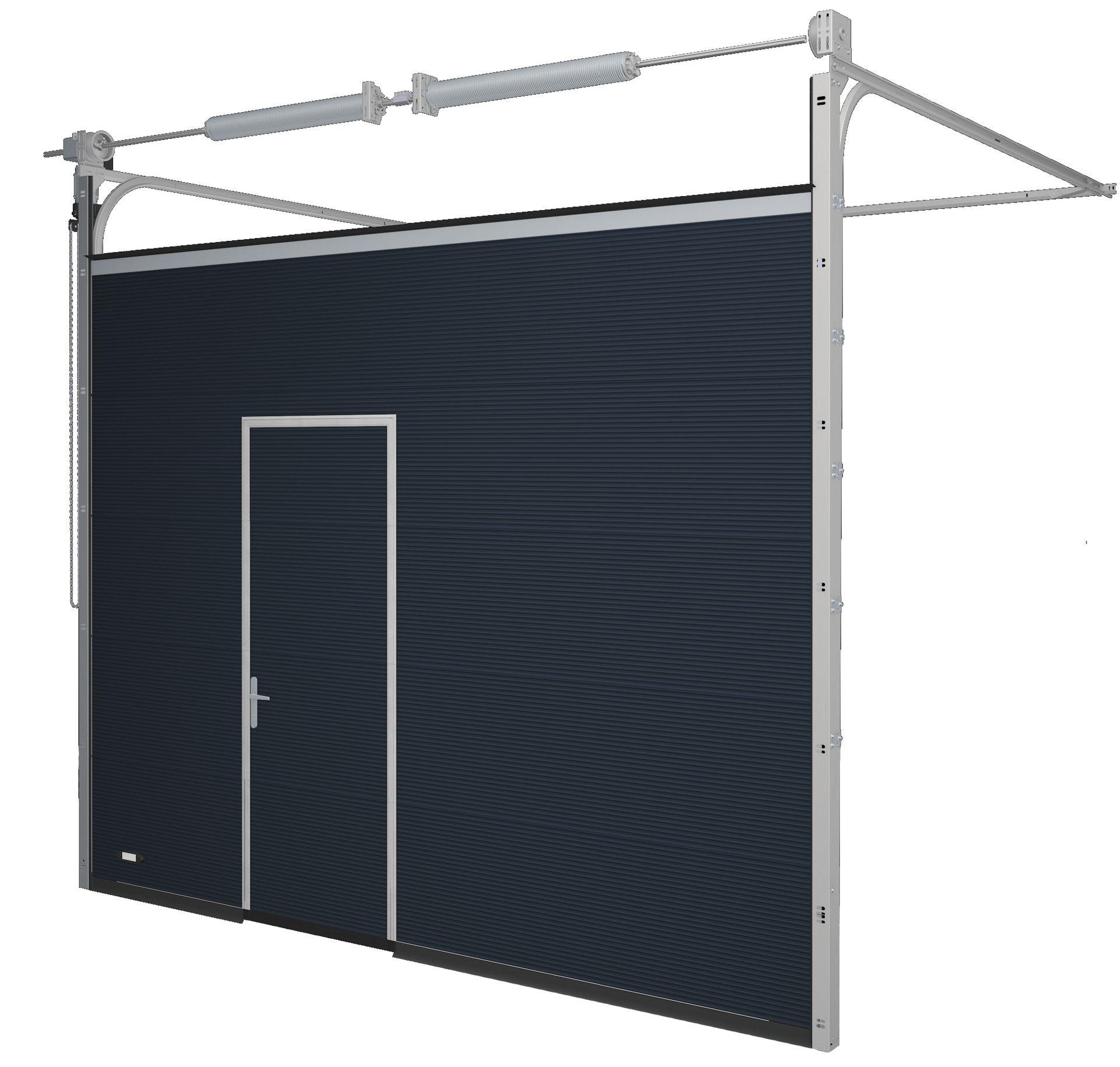 sektionaltor iso 40 mm ais. Black Bedroom Furniture Sets. Home Design Ideas