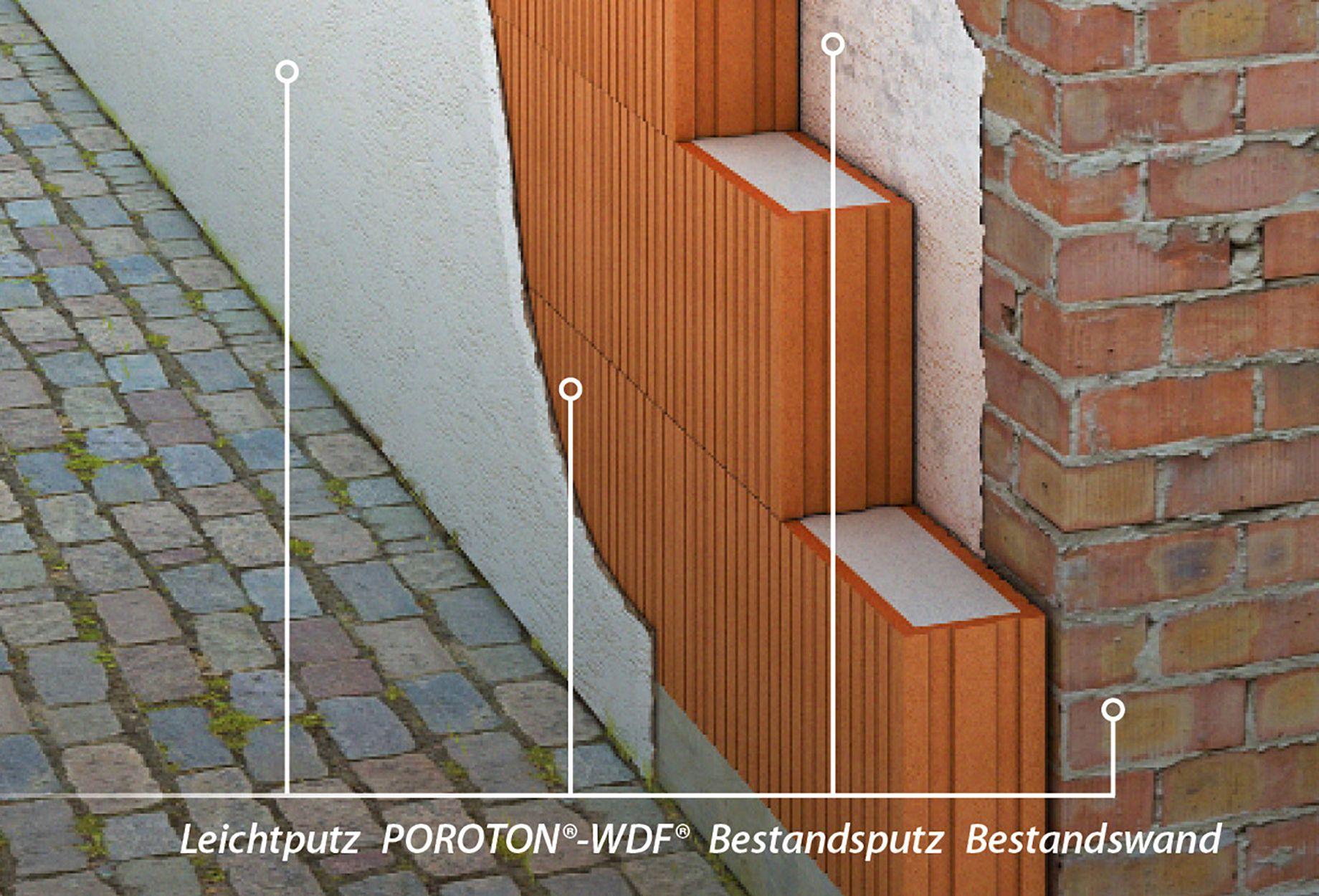 außenwanddämmung mit wärmedämmziegeln poroton®-wdf® - ais-online.de