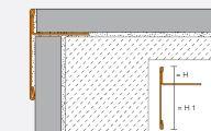 abschluss und dekorprofile f r w nde ais. Black Bedroom Furniture Sets. Home Design Ideas