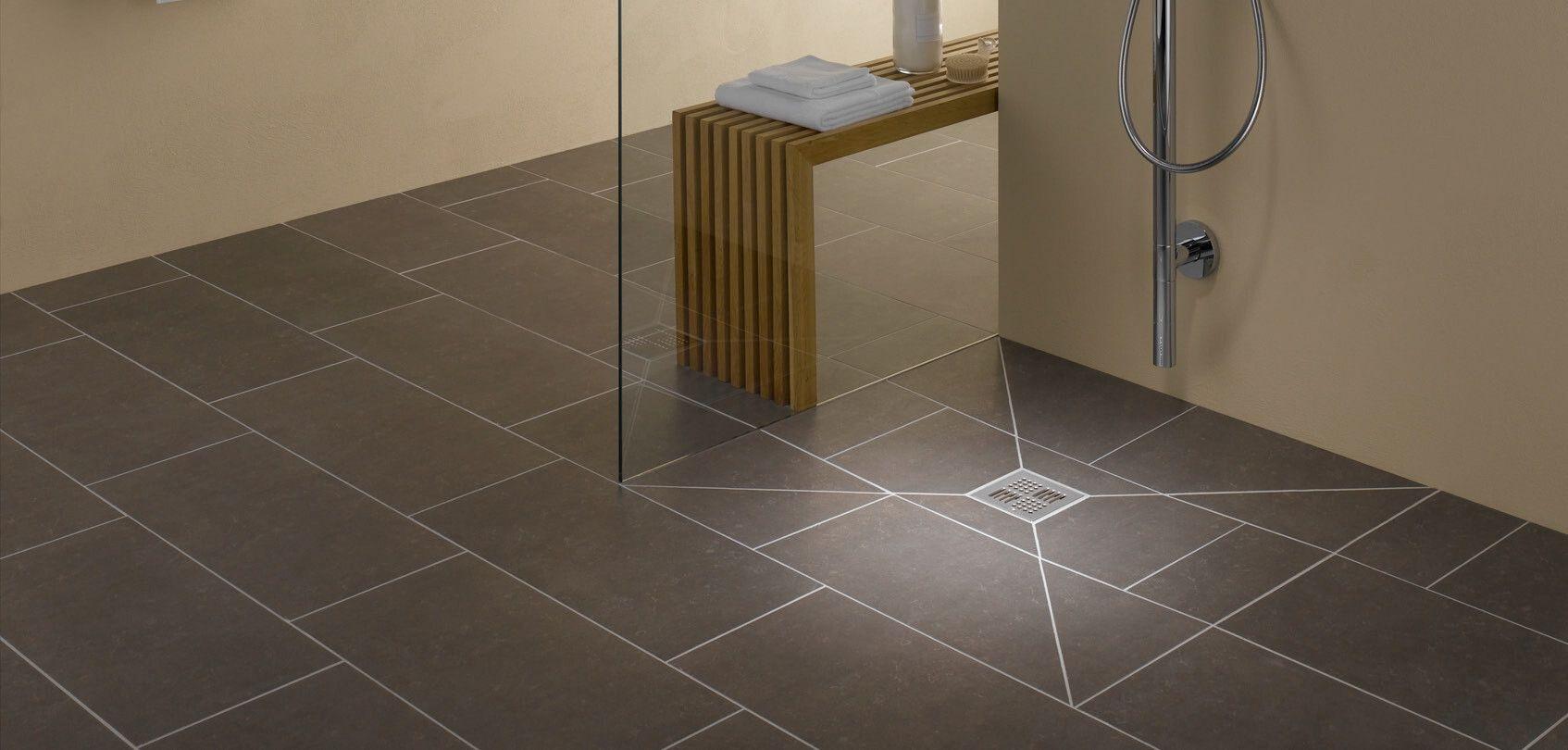 bodenebene duschsysteme mit punktentw sserung ais. Black Bedroom Furniture Sets. Home Design Ideas