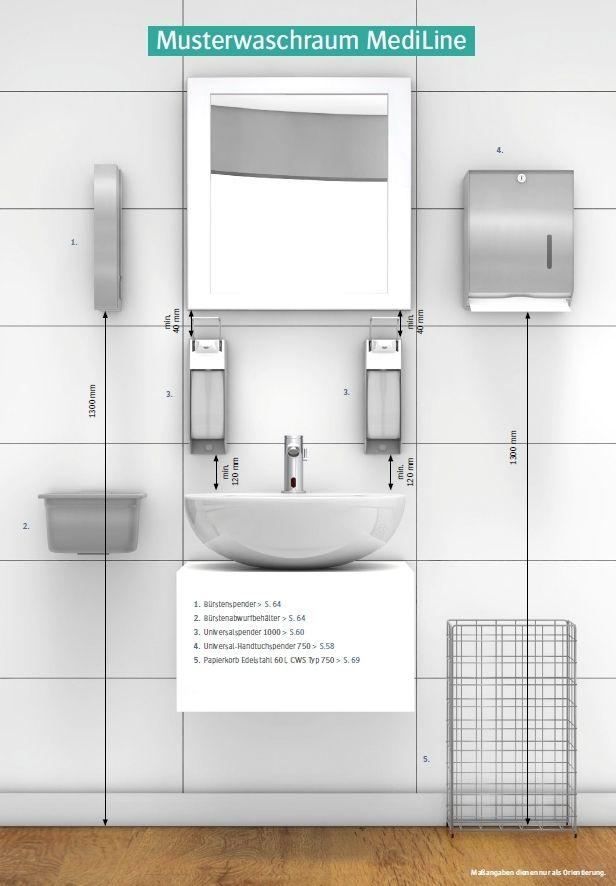 cws mediline waschraumausstattungen ais. Black Bedroom Furniture Sets. Home Design Ideas
