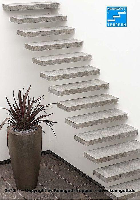 Treppen aus Stein, Holz und Metall - ais-online.de
