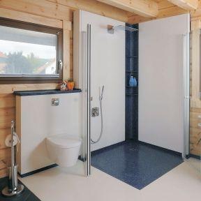 fertigbadezimmer im modulsystem wandovario ais. Black Bedroom Furniture Sets. Home Design Ideas