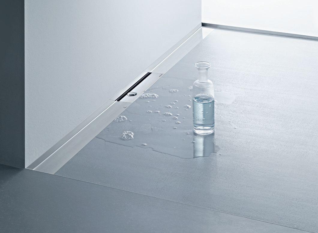 duschrinne cerawall f r bodengleiche duschen ais. Black Bedroom Furniture Sets. Home Design Ideas
