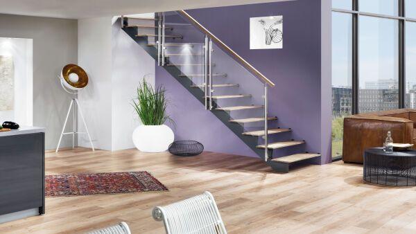 treppen als stahl holz konstruktion ais. Black Bedroom Furniture Sets. Home Design Ideas