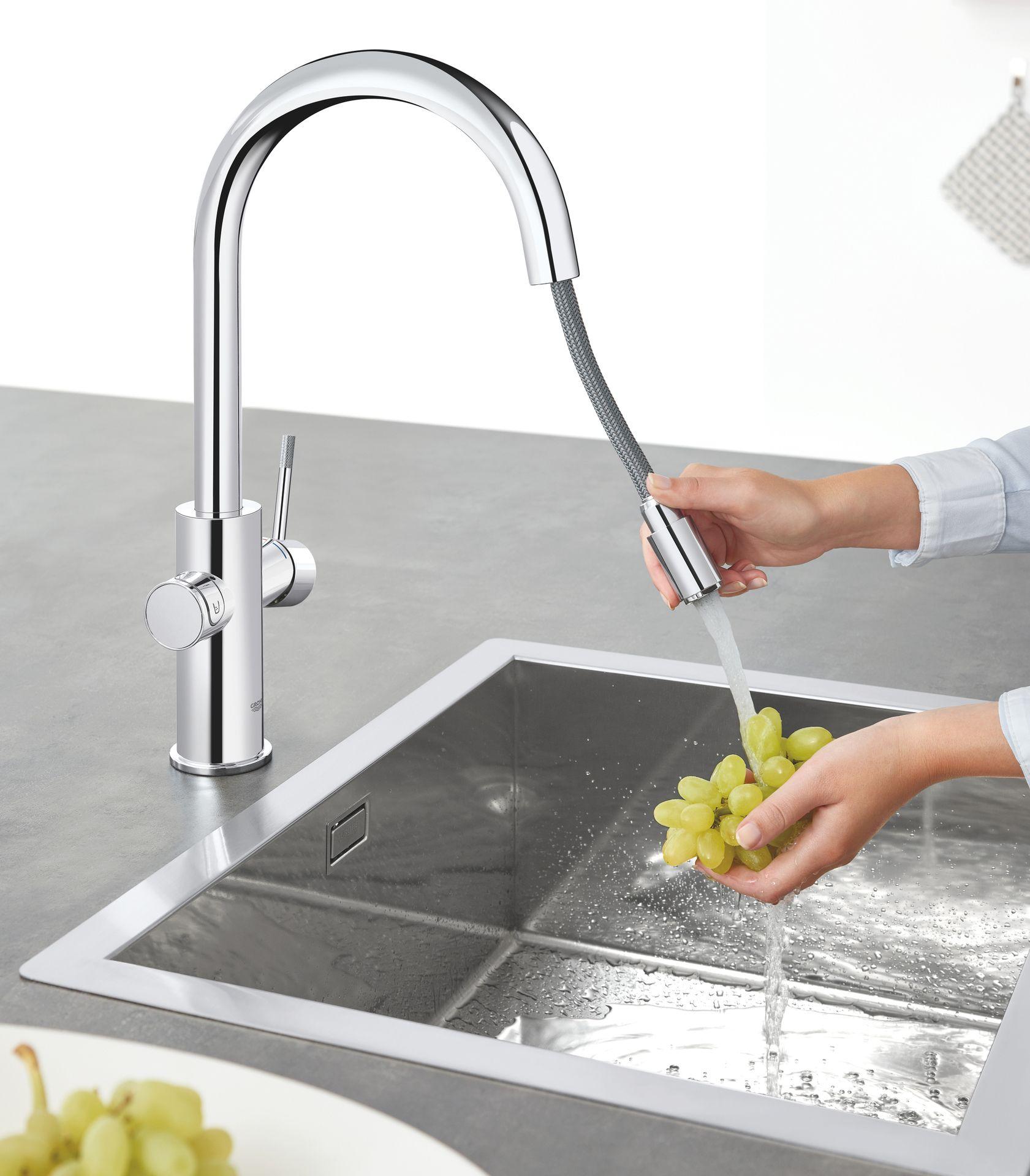 Grohe Wassersysteme Kuchenarmaturen Spulbecken Ais Online De