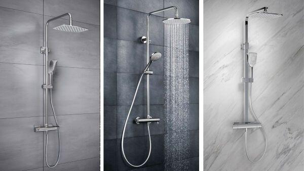 aufputz armatur dusche montieren ihr traumhaus ideen. Black Bedroom Furniture Sets. Home Design Ideas