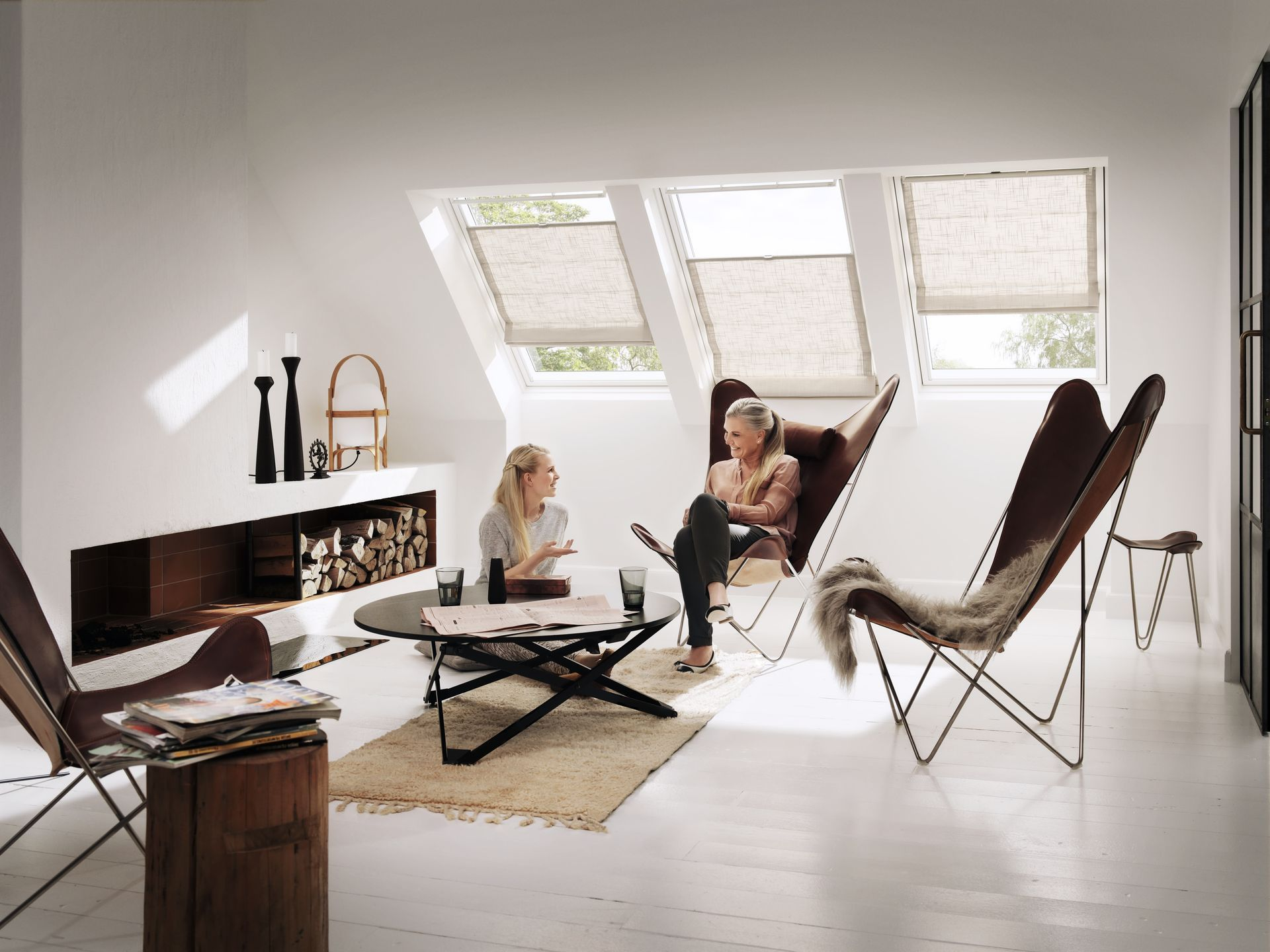 Velux dachfenster ais for Skandinavische fenster